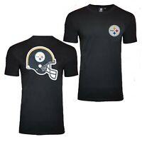 NFL Pittsburgh Steelers Helmet T Shirt Mens Official Team Apparel Jersey