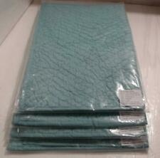 New Lot Of 4 Company Store N9Q7 Voile Pillow Sham Coastal Blue Standard Size$264