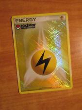 NM 2009 League ORGANIZED PLAY Pokemon LIGHTNING ENERGY Card PROMO Holo Yellow