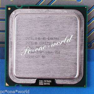 100% OK SL9UL Intel Core 2 Extreme QX6700 2.66 GHz Quad-Core Processor CPU