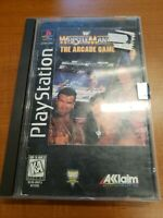 WrestleMania: The Arcade Game (Sony PlayStation 1, 1995) LONGBOX CIB COMPLETE VG