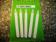25 x 20cm ( 8 INCH ) PLANT LABELS  EXTRA STRONG ----  EXCELLENT VALUE