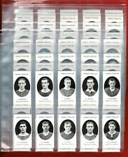 More details for prominent footballers by taddy - nostalgia reprint cards - 10 full sets ! (pc02)