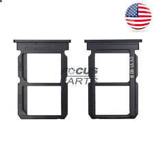 US Original Black Dual SIM Card Tray Slot Holder Replacement For OnePlus 5 A5000