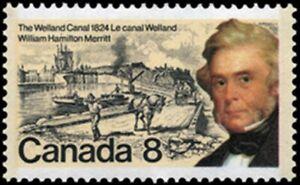 Canada  # 655   WILLIAM HAMILTON MERRITT    Brand New 1974 Original Pristine Gum