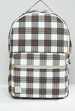 BNWT Jack Wills Backpack/ Rucksack/ Schoolbag - Checked Print
