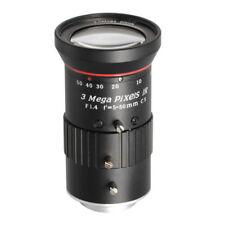 """Camera Varifocal Lens 3MP FL 5-50MM F1.4 HFOV 51°-6.1° CS Mount 1/2.7"""" Format IR"""