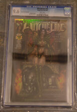 CGC 9.6 Witchblade #40 *White Pages*Dynamic Forces Holofoil*