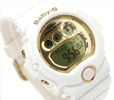 CASIO BABY-G, BG6901-7 BG-6901-7, DIGITAL, 5-YR BATTERY, WHITE, GOLD MIRROR FACE