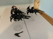 40k Drukhari Reavers 2x primed, 1x heat lance dark eldar, 1x painted