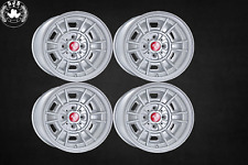 4x Alloy Rim CD66 Style 7x13 et 10 for Fiat 124 Spider, Coupe, X1/9 New