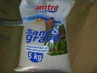 Quartz Aquarium Substrate Amtra Fine Grain Sand Ivory White 0.8mm - 1.2mm Quartz