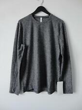 Nwt Lululemon Hblk Black Grey 4 Way Stretch Surge Warm Ls Sweater Top Men's Xl