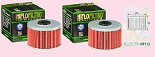 2x HF112 Oil Filter for Honda XR XR600  models   1985 to 2002
