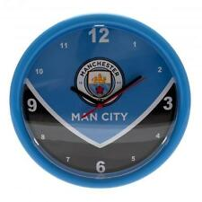 Manchester City Wall Clock SW Time Gift New Official Licensed Football Product