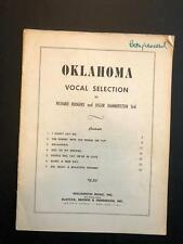 Oklahoma Vocal Selection - Richard Rodgers Oscar Hammerstein 2nd - Vintage