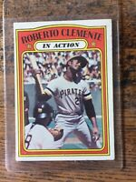 1972 Topps In Action Roberto Clemente