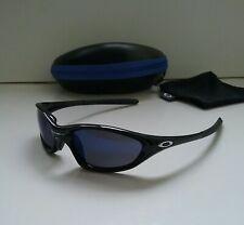 OAKLEY XX TWENTY POLISHED BLACK w/ ICE Iridium Sunglasses splice plate minute