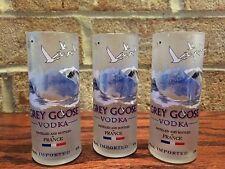 (4) GREY GOOSE VODKA SHOT GLASSES