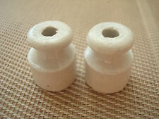 2St. Keramisch Isolator Porzellan Keramik Iisolator Ceramic Insulator