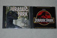 Jurassic Park The Classic John Williams -Digital Film Scores (CD, 1993) + Bonus