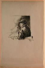 Dessin Original LUBIN DE BEAUVAIS XIXe - Le Petit Journal - Art Nouveau LB37