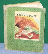 Vintage Children's Books - Walt Disney's BUGS BUNNY 1949 & Bugs Bunny Gets a Job