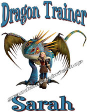 Personalized Custom How to Train Your Dragon T Shirt Birthday Astrid Stromfly