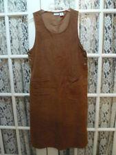 CABINCREEK PETITE SIZE LARGE JUMPER / DRESS BROWN CORDUROY