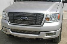 GrillCraft Upper 6pc Billet Aluminum Grille Insert kit Ford F150 XL XLT STX FX4