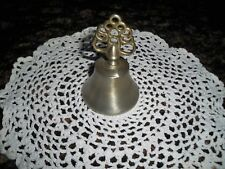 Pewter Dinner Bell Excellent Condition Fancy Handle