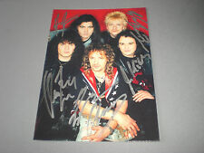 Bonfire Knife Party signed autograph on postcard Autogramm in person