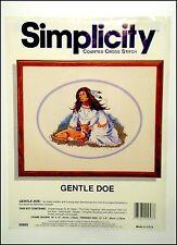"JCA Simplicity #05603 ""Gentle Doe"" Counted Cross Stitch Kit - Marianne Caroselli"