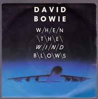 DAVID BOWIE DISCO 45 GIRI OST WHEN THE WIND BLOWS - VIRGIN VIN 45210