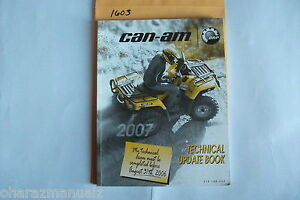 2007 Bombardier Can Am Technical Update Handbook Service Manual