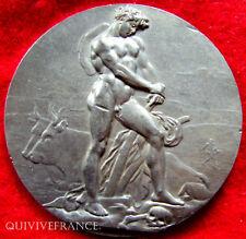 MED2218 - MEDAILLE LE LABOUREUR DE VIRGILE par PATEY - MEDAL