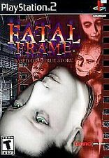 Fatal Frame PlayStation 2 PS2 BRAND NEW SEALED MINT