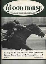 Blood Horse Secretariat-La Prevoyante-Numbered Account