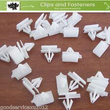 20 x White Rocker Moulding Nylon Clip Retainer Fastener 10323057 For GM Pontiac