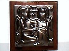 Don Schreckengost Art Pottery Ceramic Gemini Zodiac Tile Summitville Tile Co.