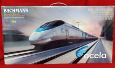 BACHMANN SPECTRUM HO AMTRAK ACELA EXPRESS TRAIN SET 01205 NIB