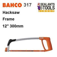 Bahco 317 Hacksaw Frame 300mm 12 Inch Hack Saw inc 24tpi Bi Metal Flexible Blade