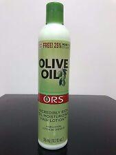 ORS OLIVE OIL Incredibly Rich Oil Moisturizing Hair Lotion 10.7 fl.oz. 25%Bonus