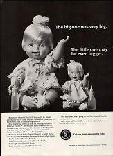 1967 PAPER AD Cheerful Tearful Mattel Doll Dolls Baby