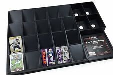2 BCW Card Sorting and Organizing Trays Gaming Trading  Perfect