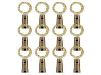 Bottle Lights, BIGHOUSE 12 Pack 2M 20 LEDs Copper Wire Battery Operated Wine Lig