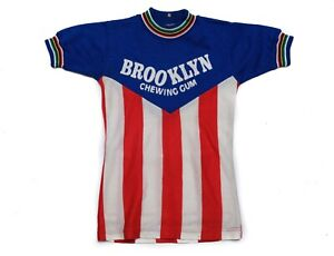Vintage Brooklyn Chewing Gum Team Kids Cycling Jersey Rare