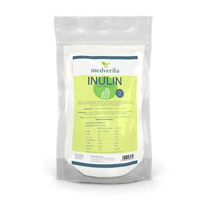 Inulin Orafti® powder 1 kg Chicory root 100% FOS Prebiotic Low Sweetness EU made