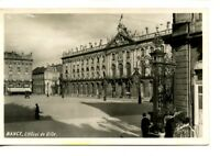 Hotel de Ville-City Hall Building-Nancy-France-RPPC-Vintage Real Photo Postcard