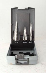 jimy Step Drill HSS (M2) 3pc Set Trade Grade